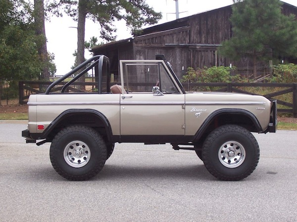 1969 Ford Bronco SOLD