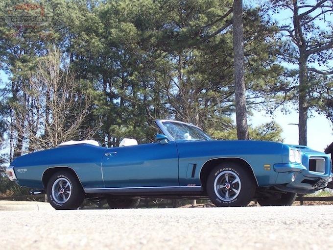 1972 Pontiac Lemans Sport Gto Convertible Sold