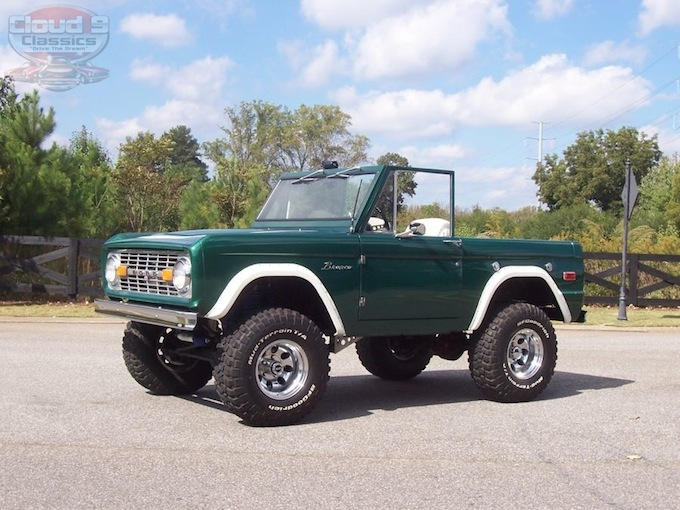 1974 Ford Bronco Half Cab Sold
