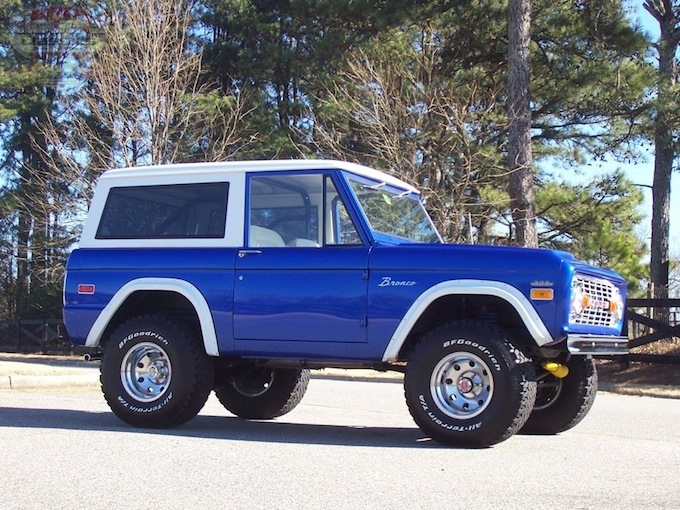 1971 Ford Bronco Interior 1971 Ford Bronco – Sold