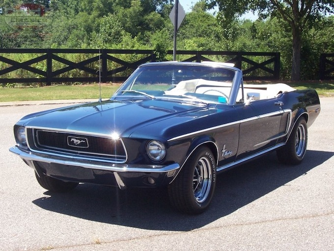 1968 Ford Mustang Convertible Sold