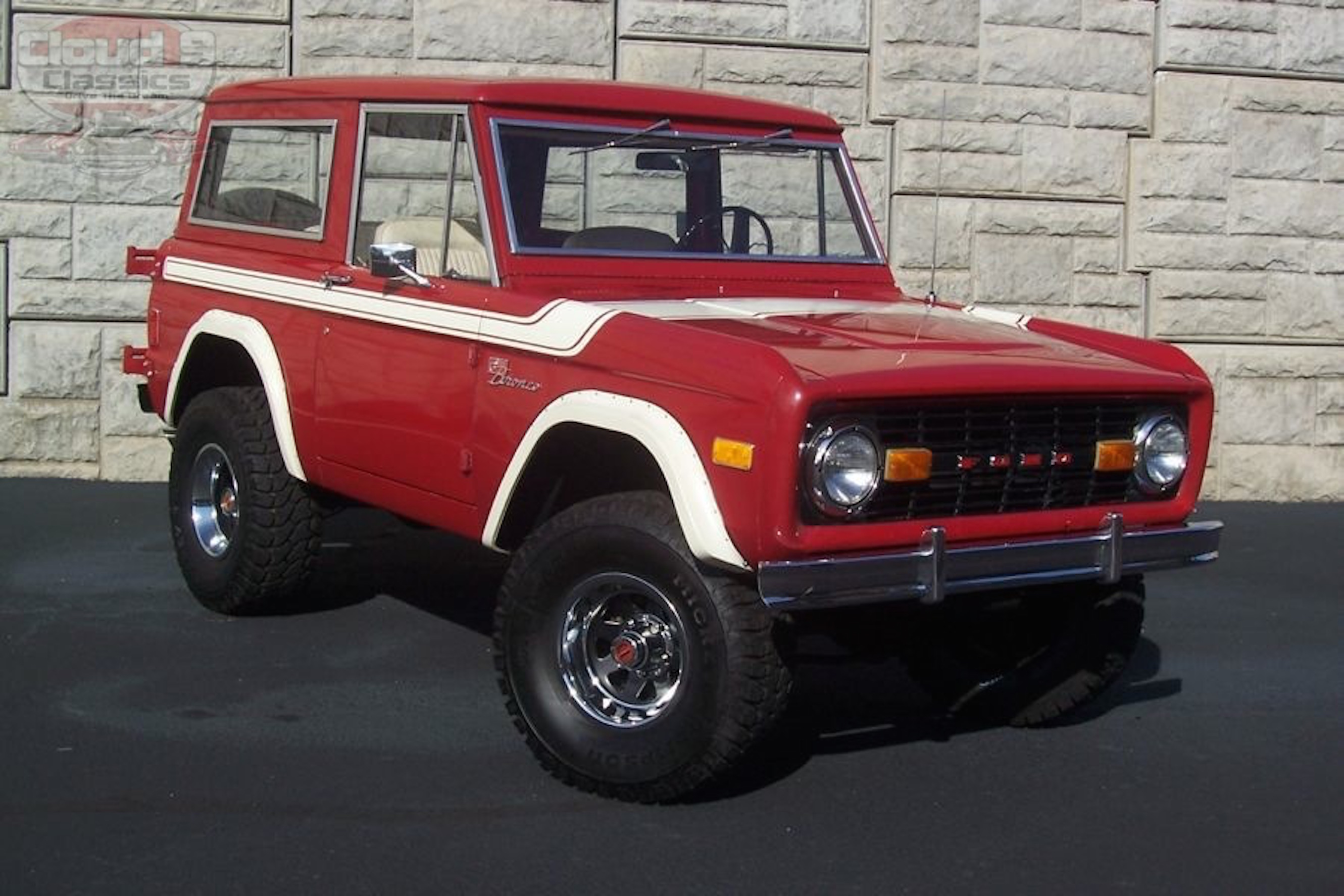1977 ford bronco sold