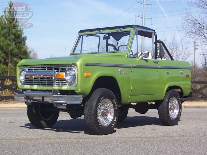 1973 Ford Bronco Sold